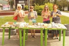 Библиотека на траве - к 80-летию НСО