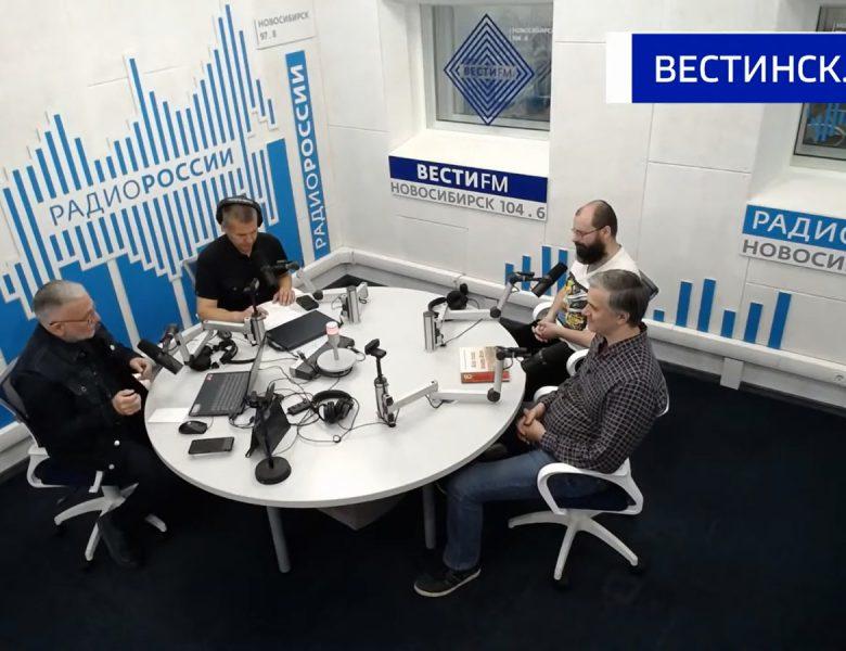 Об интерактивной карте в студии Радио России